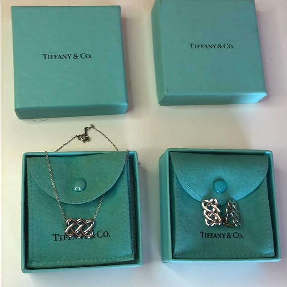 Tiffany & Co. Jewelry - Tiffany & Co. Picasso necklace and earring set